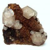 Fluorite Rottleberode, Stolberg, Harz, Saxony-Anhalt, Germany - Photo Gallery Specimen size 3,5 cm (Author: Tobi)