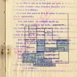 Plano Detalle informe Privado Sociedad W. Ehlers concesiones mineras en Rincón de San Ginés ( Cartagena) Murcia (Autor: manuel morales)