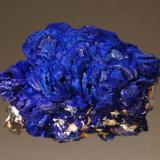 Azurite Silver Hill Mine, Waterman Mts., Pima Co., Arizona 2.5 x 4.2 cm. (Author: crosstimber)