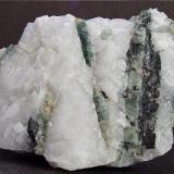 Apatite, Woframite, Arsenopyrite. Carrock Mine, Carrock Fell, Caldbeck Fells, Cumbria, England, UK. 75 x 55 mm (Author: nurbo)