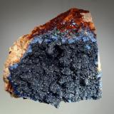 Azurite Copper Queen Mine, Czar Shaft, Bisbee, Warren District, Cochise Co., Arizona 8.5 x 9.0 cm. (Author: crosstimber)