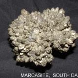 Marcasite Belle Fourche Reservoir, South Dakota, USA 6 x 6 x 4 cm (Author: Joseph D'Oliveira)