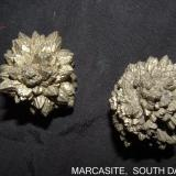 Marcasite Belle Fourche Reservoir, South Dakota, USA 2.5 x 2.5 cm (Author: Joseph D'Oliveira)