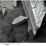 Kahlerita Mina Bel Air, La Chapelle-Largeau, Deux-Sèvres, Francia Otro de los yacimientos clásicos de Deux-Sèvres es la mina Bel Air... (Autor: Cesar M. Salvan)