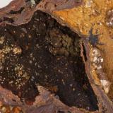 Adamita  acobaltada Mina Ojuela, Mapimí, Durango, México 12x10 cm Detalle de la anterior (Autor: victor chaul chamut)