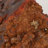 Adamita  manganesífera Mina Ojuela, Mapimí, Durango, México 8x8 cm Detalle de la anterior (Autor: victor chaul chamut)