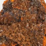 Adamita  manganesífera Mina Ojuela, Mapimí, Durango, México 10x8 cm Detalle de la anterior (Autor: victor chaul chamut)