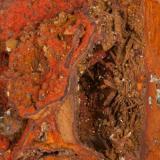 Adamita  manganesífera Mina Ojuela, Mapimí, Durango, México 12x11 cm Detalle de la anterior (Autor: victor chaul chamut)