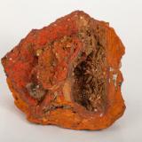 Adamita  manganesífera Mina Ojuela, Mapimí, Durango, México 12x11 cm Otra vista de la pieza anterior (Autor: victor chaul chamut)