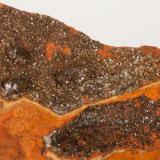 Adamita  manganesífera Mina Ojuela, Mapimí, Durango, México 12x12 cm Detalle de la anterior (Autor: victor chaul chamut)