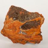 Adamita  manganesífera Mina Ojuela, Mapimí, Durango, México 12x12 cm (Autor: victor chaul chamut)