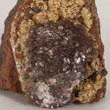 Adamita  manganesífera Mina Ojuela, Mapimí, Durango, México 4x3 cm Detalle de la anterior (Autor: victor chaul chamut)