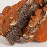 Adamita  manganesífera Mina Ojuela, Mapimí, Durango, México 8x5 cm Detalle de la anterior (Autor: victor chaul chamut)