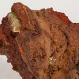 Adamita  manganesífera Mina Ojuela, Mapimí, Durango, México 10x7 cm Detalle de la anterior (Autor: victor chaul chamut)