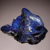 Azurite Chessy-les-Mines, Rhone-Alpes, France 3.8 x 5.4 cm. (Author: crosstimber)