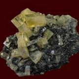 Barite SSX Mine, Independence Mountains District, Elko Co., Nevada 11.5 x 10.4 cm (Author: am mizunaka)