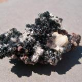 Choice miniature, 4 cm, of scultural hematite rosettes (Author: Darren)