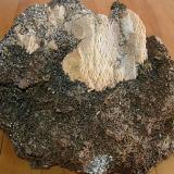 Tiny crystals on marble (Author: Glenn Rhein)