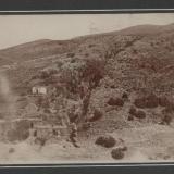 Outcrop La Noria Vein and community, San Pantaleon de la Noria, Municipio Sombrerete, Zacatecas, Mexico House is about 15m across Photo probably taken in the 1930s. (Author: Peter Megaw)