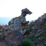 A real rock monster, consisting of manganese rich rock and sandstone. (Author: Pierre Joubert)