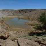 A second pool in the quarry, which is the result of some good rain. (Author: Pierre Joubert)