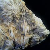 Barita, galena, fluorita y piromorfita Mina Atrevida - Vimbodí i Poblet - Conca de Barberà - Tarragona - Catalunya - España 13 x 13 x 4 cm Detalle de la fluorita (Autor: DavidSG)