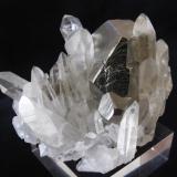 Pyrite, Quartz Spruce Ridge, King Co., Washington, U.S.A. 7,50 x 5,80 x 5,40 cm (Author: JMiguelE)
