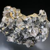 Fluorite Diana Vein, Beaumont Mine, Allanheads 120x75mm  (Author: ian jones)