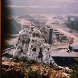 """Chimney Rock (quarry in back) (1964) Bound Brook, New Jersey, USA I lived in south Bound Brook for a couple of years. (Author: John Medici)"