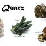 Different varieties of quartz Worldwilde (Author: Tobi)