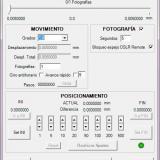 Programa de control del microscopio desde Windows (Autor: Oscar Fernandez)