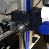 Motor y mecánica acoplada al microscopio (Autor: Oscar Fernandez)
