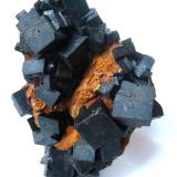 Fluorite Zehntausend Ritter Mine, Frohnau, Annaberg District, Erzgebirge, Saxony, Germany Specimen height 7 cm  (Author: Tobi)