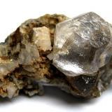 Fluorite Nikolaevskiy Mine, Dal'negorsk, Primorskiy Kray, Far-Eastern Region, Russia Specimen size 5 cm (Author: Tobi)