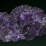 Fluorite Hill-Ledford Mine, Cave-in-Rock Sub-District, Illinois - Kentucky Fluorspar District, Hardin Co., Illinois, USA 9.5 x 6.9 cm (Author: am mizunaka)