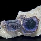 Fluorapatite Foote Lithium Co. Mine, Kings Mountain District, Cleveland Co., North Carolina, USA 3.0 x 2.4 cm (Author: am mizunaka)