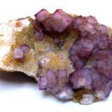 Fluorite Neuglücker Stolln Mine, Wolkenstein, Marienberg District, Erzgebirge, Saxony, Germany Specimen size 6 cm (Author: Tobi)