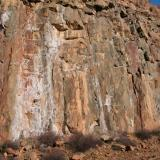 Filón Norte, Tharsis, Alosno, Huelva, Spain Oxidized pyrite stockwork at Filon Norte. (Author: Cesar M. Salvan)