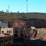 Filón Norte, Tharsis, Alosno, Huelva, Spain Old facilities at Filon Norte open pit (Author: Cesar M. Salvan)