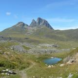 The Pic du Midi volcanoe, French Pyrenees, 2884 metres high. (Author: Benj)