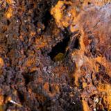 Wulfenita Mina Ojuela, Mapimí, Durango, México 43x27 cm Detalle de otro angulo (Autor: victor chaul chamut)