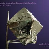 Carrollite Kasundwa, Kamoya Sud, Kambove, DRCongo 4 - 5 cm edge (Author: Roger Warin)