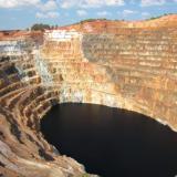 The famous Atalaya open pit, (Rio Tinto, Huelva, Spain)... (Author: Cesar M. Salvan)