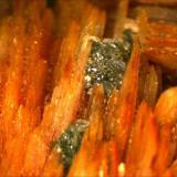 Barite, Cerussite Mibladen, Midelt, Morocco 18 cm x 4 cm sample. (Author: Mark Ost)