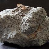 Before Topaz on Rhyolite Topaz Mountain, Juab County, Utah, USA. Topaz to 10mm (Author: nurbo)