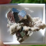 Carrollite Kamoya South Mine, Kamoya, Kambove, Katanga, D.R. Congo (Author: Nico78)