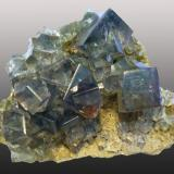 Fluorite Middlehope Shield Mine, Westgate, Weardale, Co. Durham, England, UK 11x8 cm (Author: ian jones)