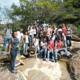 Mis estudiantes y yo estamos recolectando muestras en el campo en Serrinha, Formiga, Minas Gerais- Brasil. (Autor: Anisio Claudio)