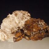 Cerussite Level 2, Tui Mine, Te Aroha, New Zealand 6.5x4 cm (Author: Greg Lilly)
