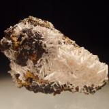 Cerussite Level 2, Tui Mine, Te Aroha, New Zealand 7x6 cm (Author: Greg Lilly)